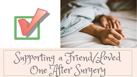 Call Consider It Done! to help friend after surgery at 919-697-8874