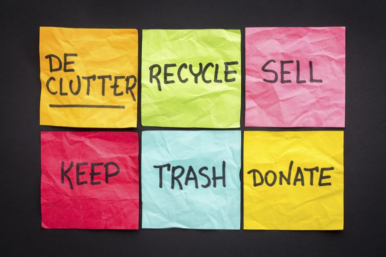 post it notes to sell, donate, recycle